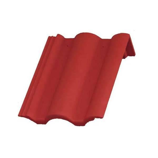 Bramac Római Protector félnyeregtető cserép rubinvörös