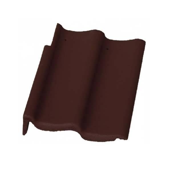 Bramac Duna Protector szegélycserép barna jobbos