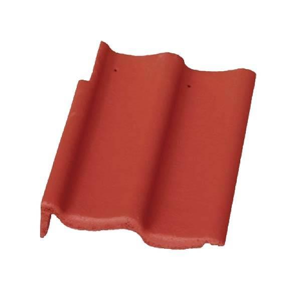 Bramac Duna Protector szegélycserép rubinvörös jobbos