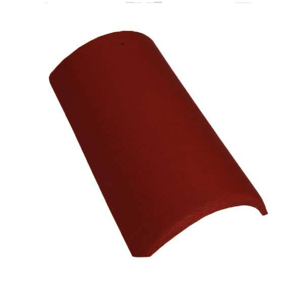 Bramac Tegalit Star kúpcserép vörösbarna