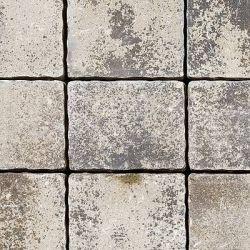 """Semmelrock Appia Antica antikolt """"B"""" kő 15x19,2x8cm lávaszürke melírozott"""