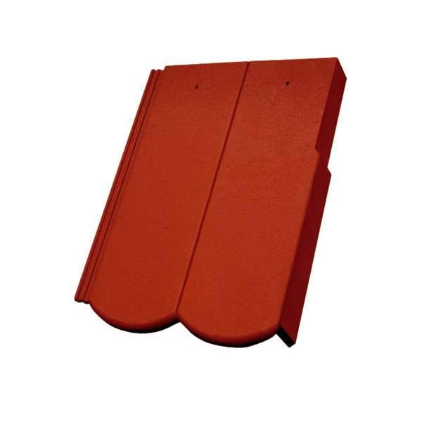 Bramac Reviva Protector szegélycserép rubinvörös jobbos