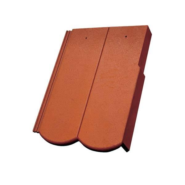 Bramac Reviva Protector szegélycserép téglavörös jobbos