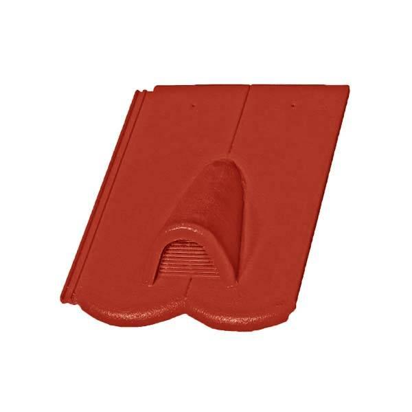 Bramac Reviva Protector szellőzőcserép rubinvörös