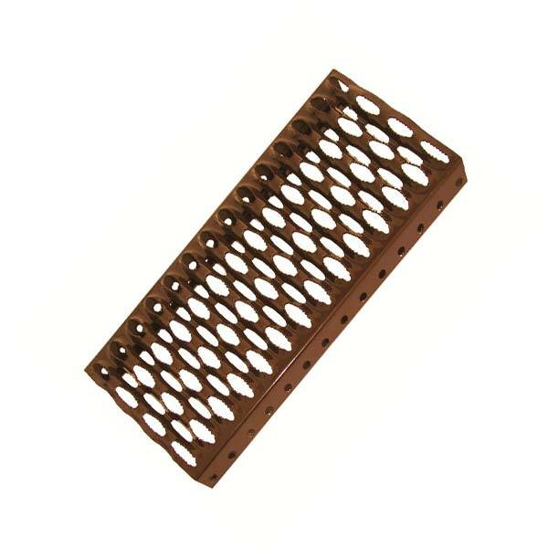 Lépcsőfok acél (25 × 41,5 cm)