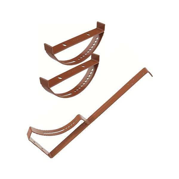 Biztonsági rács- vagy lépcsőfoktartó elem (acél)