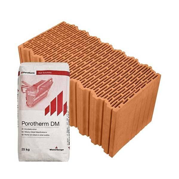Porotherm Rapid 50 K X-therm + V.F.H. tégla