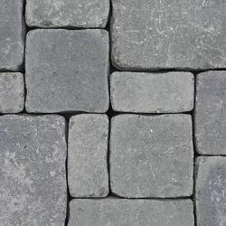 """Semmelrock Castello Antico """" félkő"""" 12,5x6,2x6 cm szürke-fekete"""