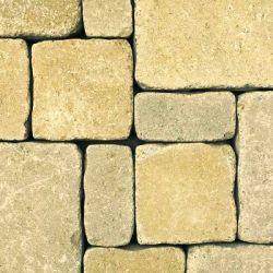 "Semmelrock Castello Antico "" félkő"" 12,5x6,2x6 cm homok-sárga"