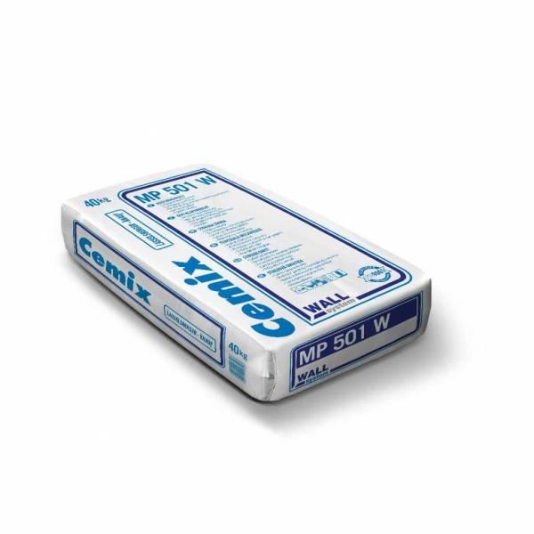 LB-Knauf gépi alapvakolat fehér MP501 W 40kg