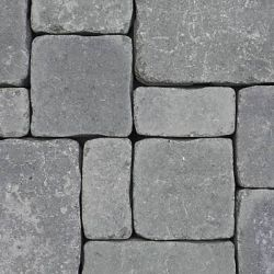 """Semmelrock Castello Antico """" nagy tégla"""" 25x18,7x6 cm szürke-fekete"""