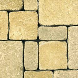 """Semmelrock Castello Antico """" nagy tégla"""" 25x18,7x6 cm homok-sárga"""