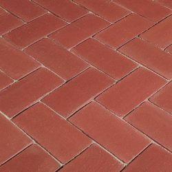 Semmelrock Penter Piazza térburkoló klinkertégla 24,5x12x6,5 cm vörös érdes