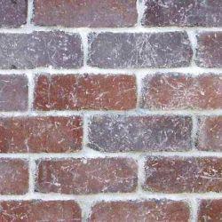 """Semmelrock Castello kerítés """"félkő"""" 20x20x14 cm vörös-barna"""