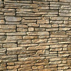 """Semmelrock Bradstone Madoc falrendszer """"kitöltő blokk"""" 11x10x7 cm sárgásszürke melírozott"""