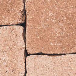 Semmelrock Castello antico szegélykő 33x25x8 cm lazac
