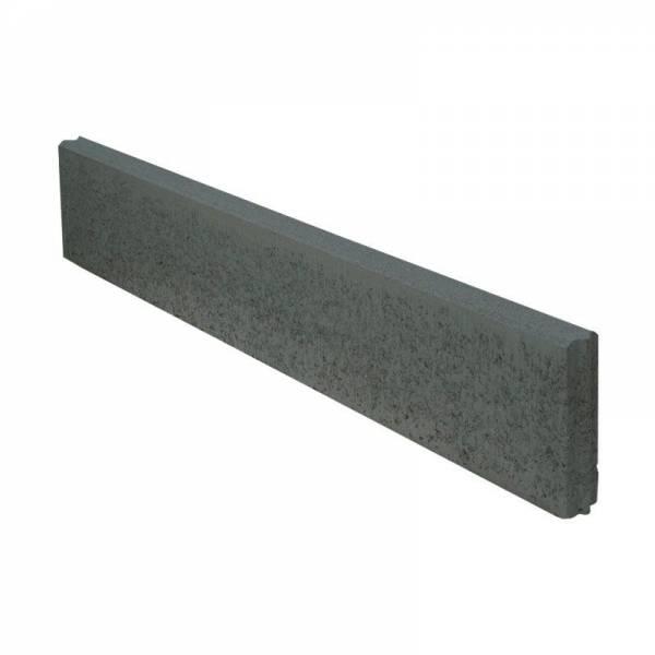 Semmelrock Kerti szegély 100x20x5 cm antracit