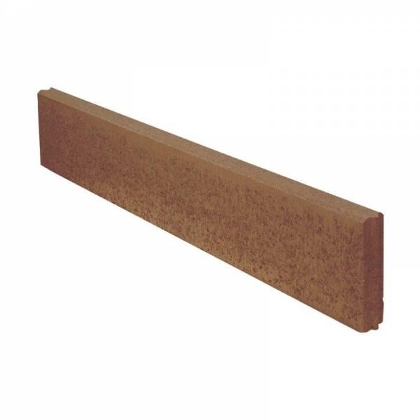 Semmelrock Kerti szegélykő 100x20x5 cm barna