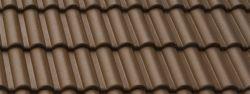 Bramac Merito Plus 1/1 tetőcserép barna