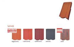 Bramac Reviva Novo szegélycserép 3/4 jobbos rubinvörös