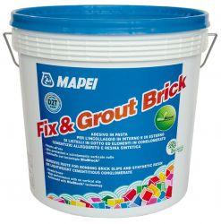 Mapei Fix & Grout Brick diszperziós ragasztó szürke 5 kg