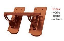 Bramac Fém járócserép kengyellel aluminium vörös