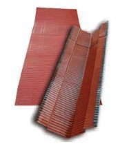 Bramac Vario vápaelem rögzítővel (aluminium) vörös