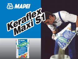 Mapei keraflex Maxi S1 flexibilis ragasztóhabarcs 23 kg fehér