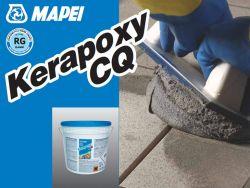 Mapei kerapoxy CQ kétkomponensű saválló epoxi fugázóhabarcs 290 krémfehér 3 kg