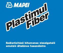 Mapei Plastimul Fiber bitumenes vízszigetelő és ragasztó emulzió 12 kg