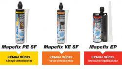 Mapei mapefix VE SF 300 dübelrögzítő 300 ml