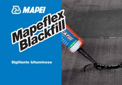 Mapei Mapeflex Blackfill bitumenes rugalmas hézagkitöltő 300 ml