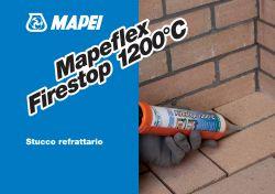 Mapei Mapeflex Firestop 1200°C tűzálló fugázó  300 ml