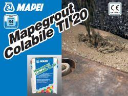 Mapei Mapegrout Colabile TI 20 cementet és szálasanyagot tartamazó acélszálakat tartalmazó betonjavító habarcs 25 kg