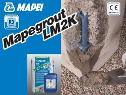 Mapei Mapegrout LM2K kétkomponensű korroziógátló szerekkel adalékolt betonjavító habarcs 30,25 kg