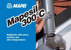 Mapei Mapesil 300°C rugalmas hézagkitöltő magas hőmérséklethez 300 ml