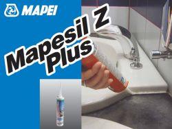 Mapei Mapesil Z Plus ecsetsavas szilikonos hézagkitöltő szaniterekhez 280 ml fehér