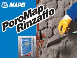 Mapei Poromap Rinzaffo sóálló tapadásfokozó gúzoló habarcs  nedves falazatra 25 kg