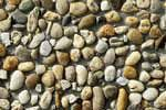 Leier Classic Line mosott burkolólap 50×50×3,8 gyöngykavicsos