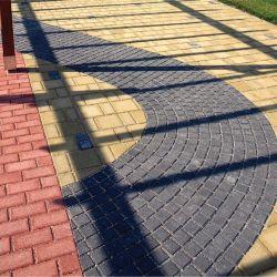 Leier Piazza térkő 20x10x8 antracit