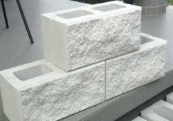 Architektura kerítéskő sarokelem(fűrészelt)