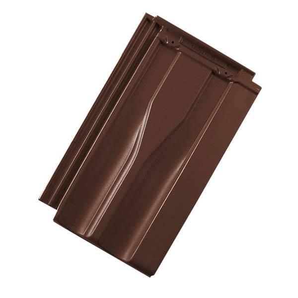 Tondach Tango Plus tetőcserép barna színben