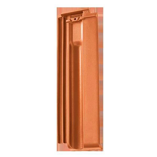 Tondach Twist félcserép terrakotta színben