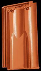 Tondach Twist szellőzőcserép engóbozott színekben
