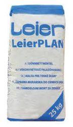 LeierPLAN vékony falazóhabarcs - 25 kg