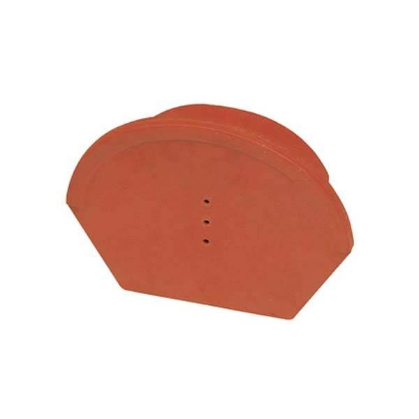 Hornyolt gerinc kezdő és lezáróelem 17 cm terrakotta színben