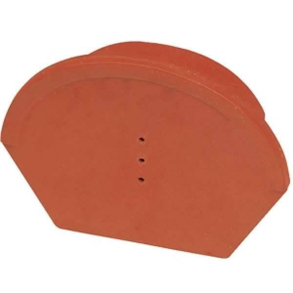 Hornyolt gerinc kezdő és lezáróelem 17 cm antracit színben