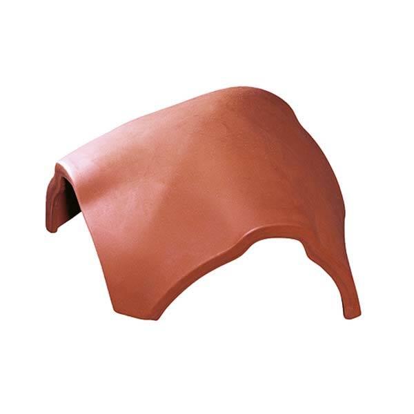 Tondach Rumba hármas gerincelosztó elem 17 cm terrakotta szín