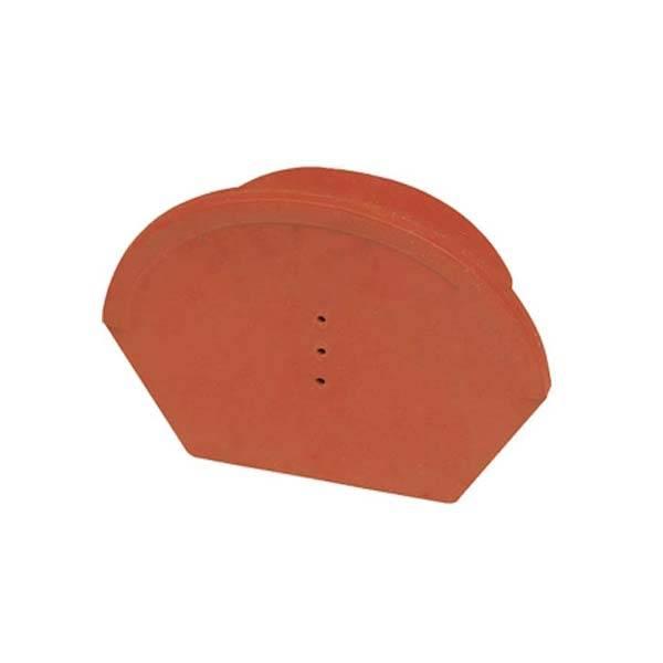 Tondach Rumba lekerekített kezdő és lezáróelem antracit vagy piros antik színben