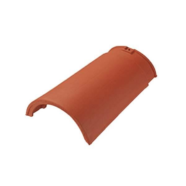 Tondach Palotás sajtolt sima gerinccserép gerincrögzítővel terrakotta szín
